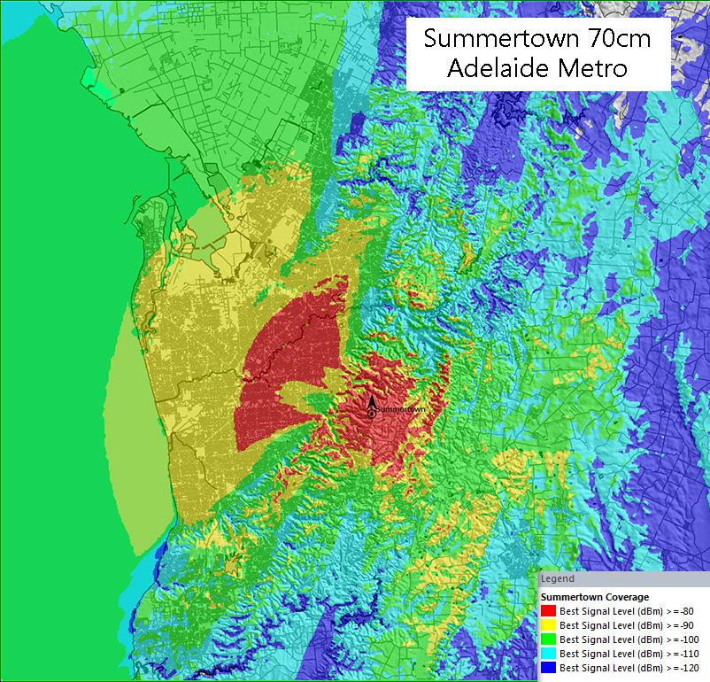 Summertown Metro Area 70cm