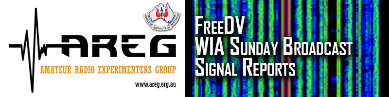 FreeDV WIA Broadcast Reception Reports