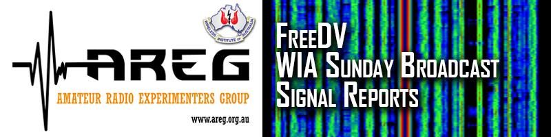 FreeDV WIA Broadcast Reception Reports