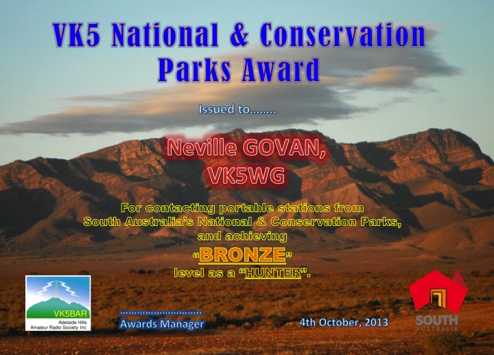 http://www.vk5parks.com/about-the-award.html