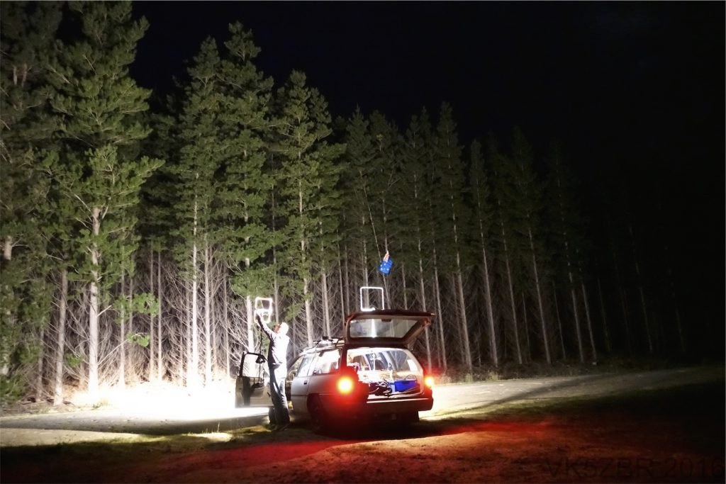 Changing antenna night hunt