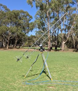 Testing the Ground-Station Antennas